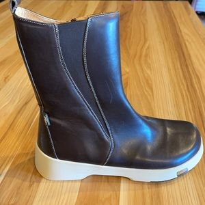 Birkenstock Footprints BROWN Leather boot 8-8.5